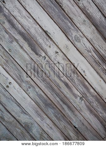 Unpainted fence Light Wood panel background. Old vintage planked diagonal wooden texture. Boards empty clear background for flat lay photo design