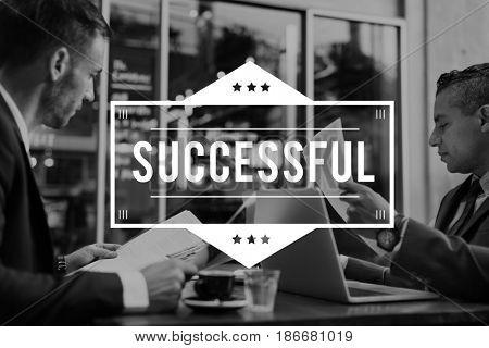 Successful Achievement Development Accomplishment