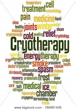 Cryotherapy, Word Cloud Concept 5
