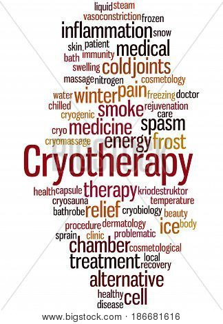 Cryotherapy, Word Cloud Concept 7