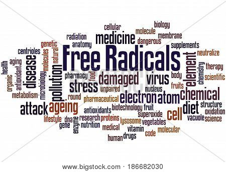 Free Radicals, Word Cloud Concept 2
