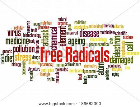 Free Radicals, Word Cloud Concept 5