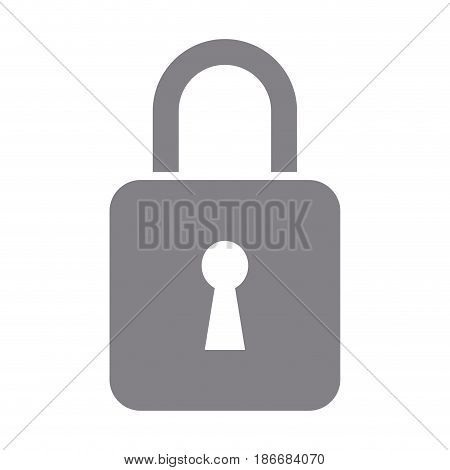 padlock security data protection privacy vector illustration