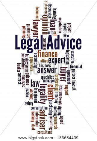 Legal Advice, Word Cloud Concept 9