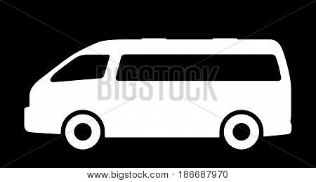 Vector illustration of silhouettes of passenger cars.