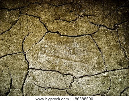 Plaster, stucco, texture of cracked plaster, abstract grugne background, bumpy plaster, old wall, structure cement plaster, cracked plaster