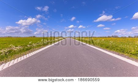 Polder Road Holland