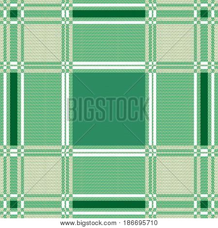 Emerald shadows, geometric motifs  and white background.