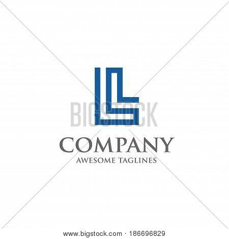 L letter logo design vector illustration template, L letter logo vector, letter L logo vector, creative Letter L letter logo