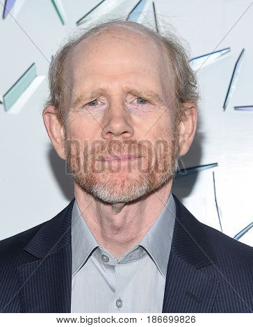 LOS ANGELES - MAY 06:  Ron Howard arrives for the Kaleidoscope 5 on May 6, 2017 in Culver City, CA