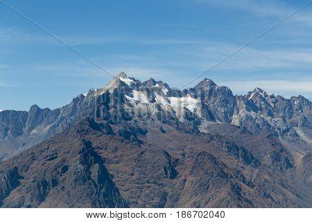Peruvian Andes from the Inca Trail, Peru