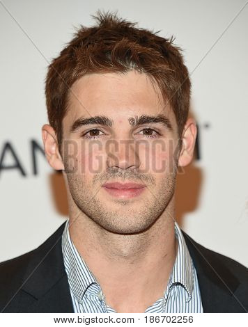 LOS ANGELES - MAY 05:  Steven McQueen arrives for the Race To Erase MS Gala 2017 on May 5, 2017 in Beverly Hills, CA