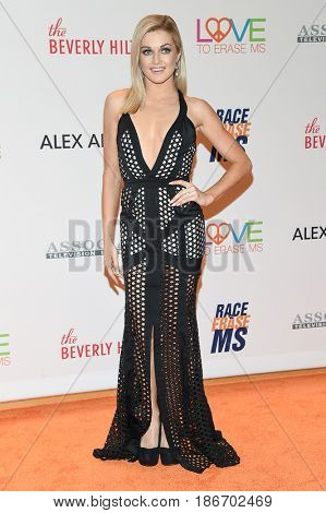 LOS ANGELES - MAY 05:  Lindsay Arnold arrives for the Race To Erase MS Gala 2017 on May 5, 2017 in Beverly Hills, CA