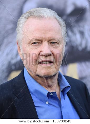 LOS ANGELES - MAY 08:  Jon Voight arrives for the 'King Arthur: Legend Of The Sword