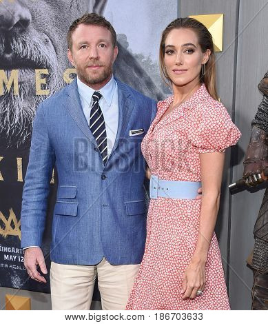 LOS ANGELES - MAY 08:  Guy Ritchie and Jacqui Ainsley arrives for the 'King Arthur: Legend Of The Sword