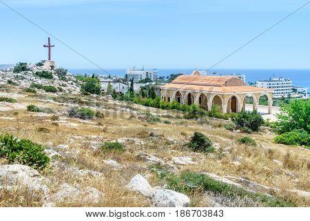 Temple Saint Epifanios in Ayia Napa. Cyprus