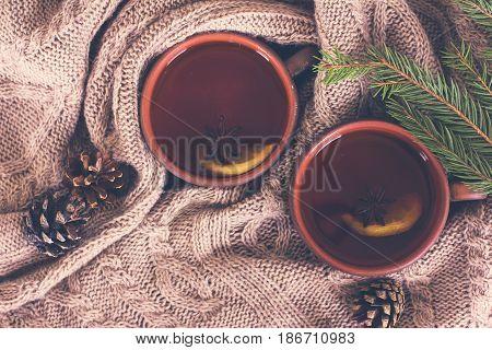 Tea, Christmas Still Life.