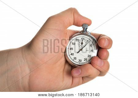 Stopwatch speed competition time clock swimming business
