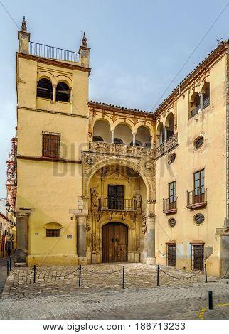 Palacio de Valdehermoso in the Renaissance style of the 16th century Ecija Spain