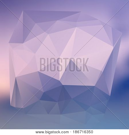 Modern Abstract Background Triangles 3D Effect Glowing Light40