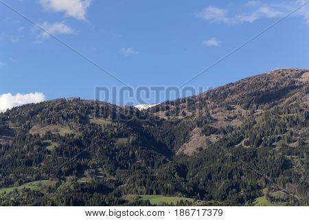 Landscape at the Gurktal Alps Carinthia Austria