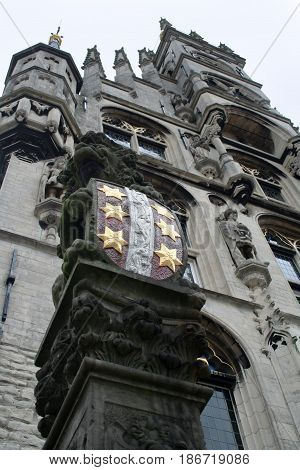 Detail Of The Townhall