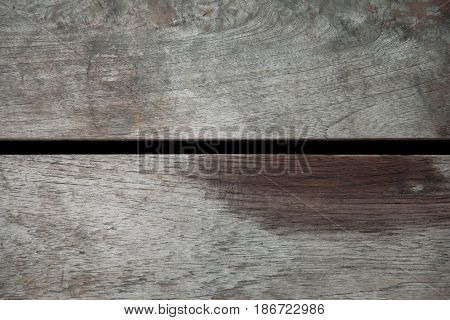 closeup brown old wood texture for background.