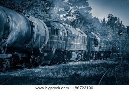Diesel Cargo Locomotive