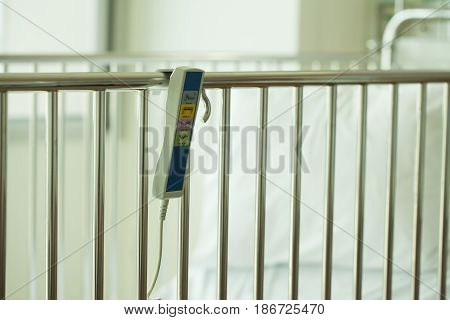 Remote control of patient bed in the hospital