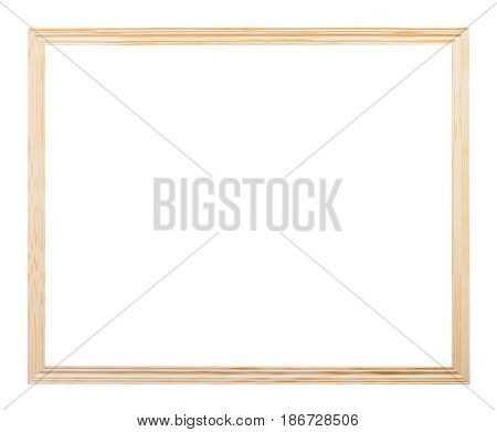 Horizontal Simple Narrow Unpainted Picture Frame