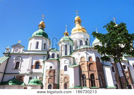 Saint Sophia Cathedral In Kiev City
