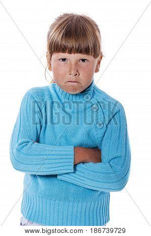 Upset Cranky Girl