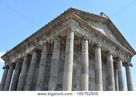 Temple of Garni, a first century Hellenic temple near Garni, Armenia