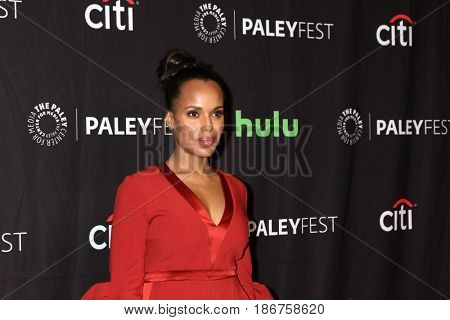 LOS ANGELES - MAR 26:  Kerry Washington at the 34th Annual PaleyFest Los Angeles -