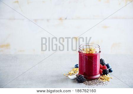 Tasty Berry Smoothie