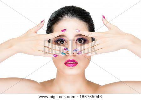 A Vogue Image Model Makeup Bright