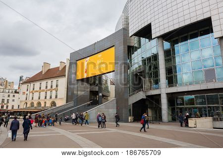 Opera Bastille In Paris, France