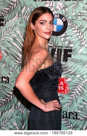 LOS ANGELES - FEB 24:  Janet Montgomery at the 10th Annual Women in Film Pre-Oscar Cocktail Party at Nightingale Plaza on February 24, 2017 in Los Angeles, CA