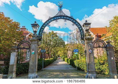 Snouck Van Loosen Park In Enkhuizen, The Netherlands