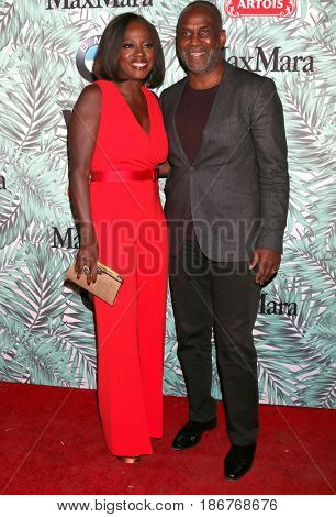 LOS ANGELES - FEB 24:  Viola Davis, Julius Tennon at the 10th Annual Women in Film Pre-Oscar Cocktail Party at Nightingale Plaza on February 24, 2017 in Los Angeles, CA