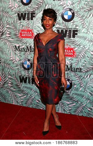 LOS ANGELES - FEB 24:  Anika Noni Rose at the 10th Annual Women in Film Pre-Oscar Cocktail Party at Nightingale Plaza on February 24, 2017 in Los Angeles, CA