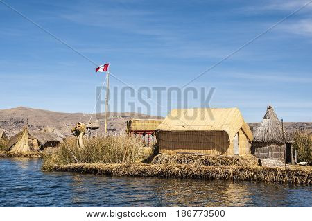 Uros - Floating Islands Titicaca lake, Peru-Bolivia