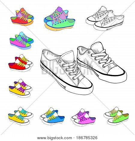 sketch sneakers and brightly colored sneakers casualdesign fashion
