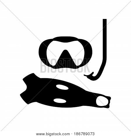 Equipment of diving ( shade pictures )