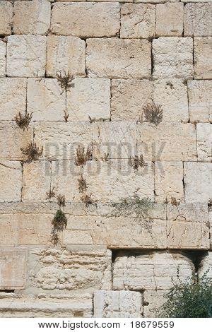 The Wailing Wall (western wall) , Jerusalem, Israel