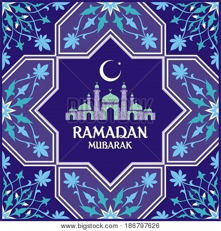 Ramadan Card Blue.eps