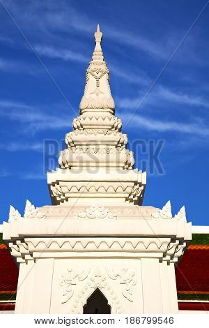 Asia  Thailand     Sunny  Temple     Sky      And  Colors Religion      Mosaic