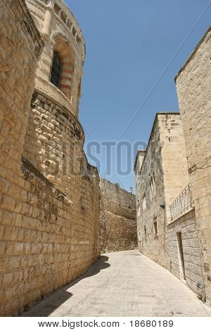 Ancient Alley in Jerusalem