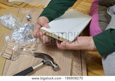 Installing Wooden Dowels