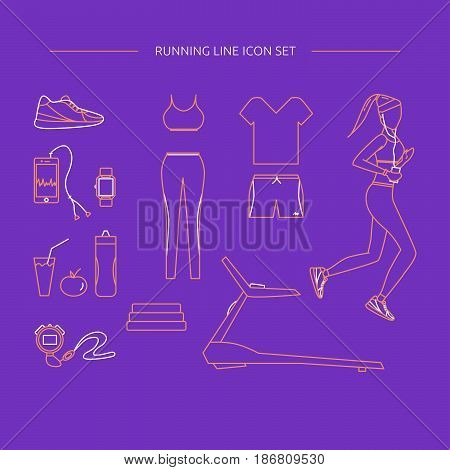Clothing And Accessories For Running.